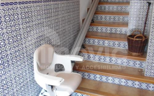 silla salvaescaleras altea