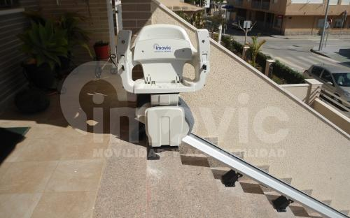 outdoor stairlift alicante murcia