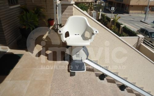 Outdoor Stairlift installation Spain