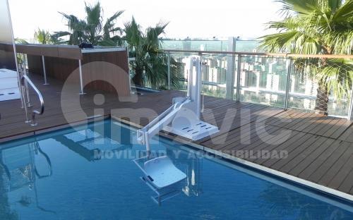 Elevador para piscinas Imovic