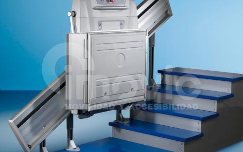 Plataforma sube escaleras inclinada Supra