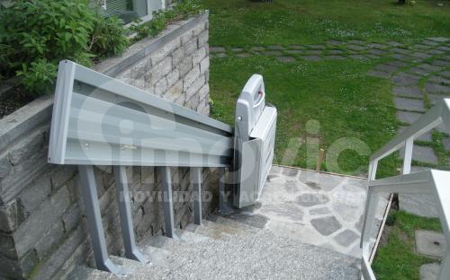 Plataforma Sube escaleras exterior