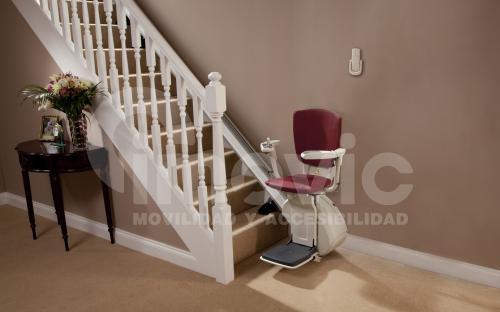Silla sube escaleras tramo recto