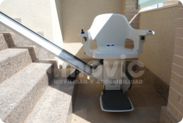 Outdoor Stairlift installation