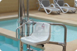Elevador piscinas
