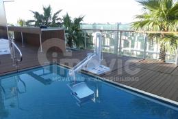 Elevador piscinas portátil