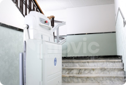 Inclined Platform Lift Foldable